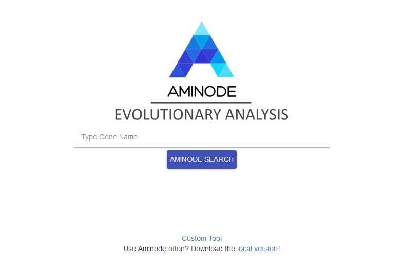 aminode is minimalistic and elegant